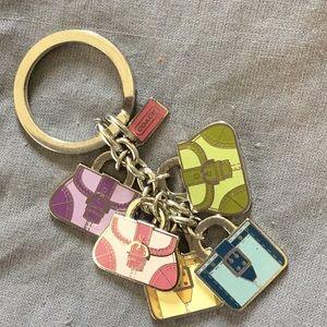 Coach Tiny Purses Key Chain/Bag Charm